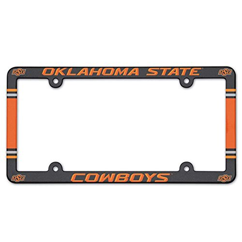Wincraft Oklahoma State Cowboys Plastic License Plate Frame