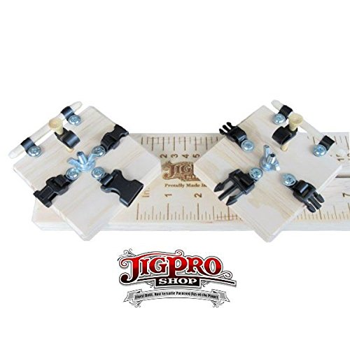 Jig Pro Shop Professional Paracord Jig (10'' Jig w/Monkey Fist)