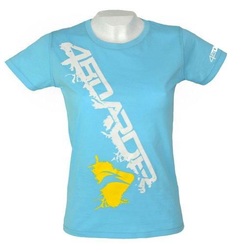 turquesas Gone Wild 4boarder Wakeboarder de Boarder camiseta Skater mujeres Longboarder Surfer Estilo para Kiter qqOzWv