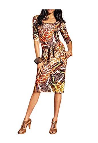 Unbekannt - Vestido - Opaco - para mujer Multicolor