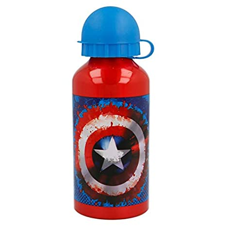 Stor Botella Aluminio 400 ML | Capitan America Icon: Amazon.es ...