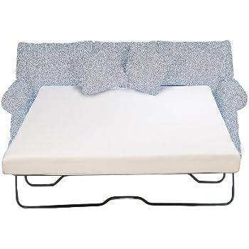 this item sleeper sofa mattress 45 inch memory foam full size 53x72 inch