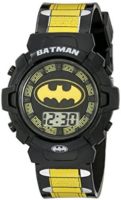 DC Comics Batman Kids' BAT4177 Digital Display Quartz Multi-Color Watch