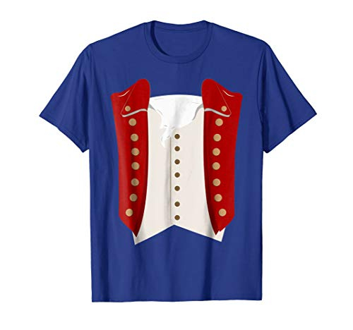 George Washington Red Costume Shirt For Adults and Kids]()