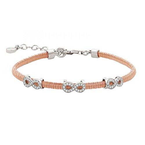 Nomination-Bracelet Femme-Argent 925/1000-Oxyde de zirconium blanc 17,5cm-145803/011