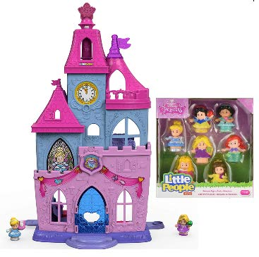 fisher price little peopleディズニープリンセスmagical wand palace