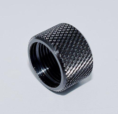 9/16 x 24 Barrel Thread Protector .40 cal, 10mm Black Oxide (Kel Tec Sub 2000 Gen 2 40 Cal)