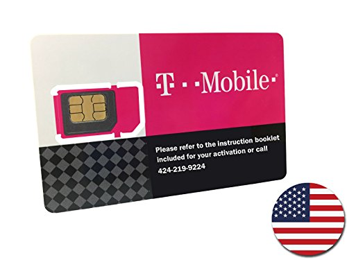 T-Mobile Prepaid SIM Card Unlimited Talk, Text, and Data for 7 days (For use in United States)