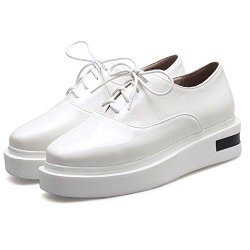 COOLCEPT Damen Flach Sneaker Schuhe White
