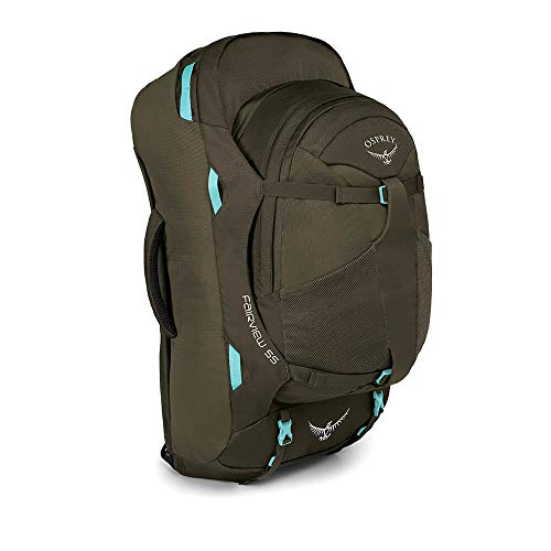 Osprey Packs Fairview 55 Women's Travel Backpack, Misty Grey, Small/Medium ()