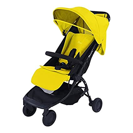 Cochecito de bebé de alta calidad, peso ligero, para bebés, 2018 amarillo amarillo