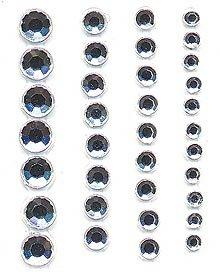 Hero Arts 103 Piece Gemstones, Clear
