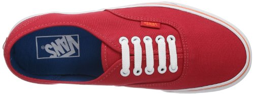 Zapatillas C LOLLIPOP U Rojo unisex NEON Vans AUTHENTIC lona de 7xIXqw4wn