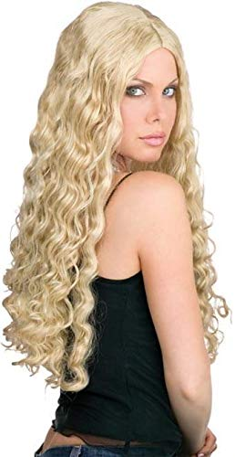 22111ad8a35 Amazon.com  24-Inch Luscious Blonde Wig  Clothing