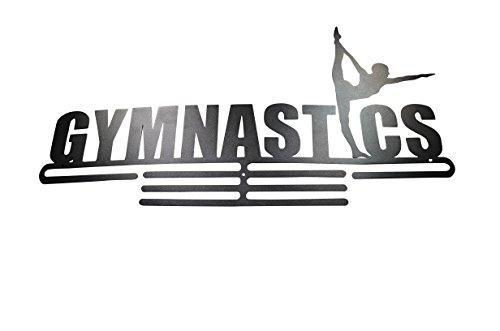 Gymnastics - Medal Hanger - Ribbon Holder - Display Sports Awards on Shelf Rack