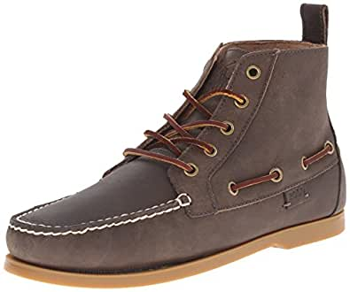 Polo Ralph Lauren Men's Barrott Boot, Grey, 7 D US