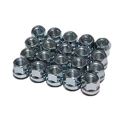 EZAccessory 16 Open End Bulge Acorn Lug Nuts 10x1.25 For ATVs: Automotive