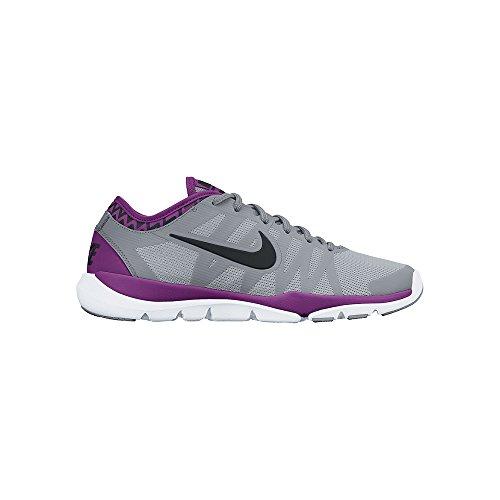 Women's Nike Flex Supreme TR 3 Training Shoe Wolf Grey/Stealth/Bold Berry/Black Size 7.5 M US