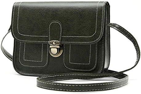 iShine Fashion Retro Handbag Single Crossbody Shoulder Bag Purses Student  Diagonal Bag Simple British Style with Belt Adjustable Crossbody Bag Tote  Bag ... 2d2e545f86eb0