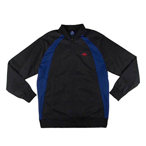 Air Jordan Wings Track Jacket 872861 010 Black Varsity Royal University Red sz XXL US
