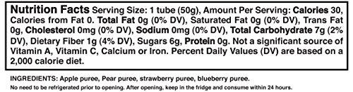 Buddy Fruits Fruit Tubes, Apple & Mixed Berries, 1.75 Fluid Ounce (Pack of 48) by Buddy Fruits (Image #3)'