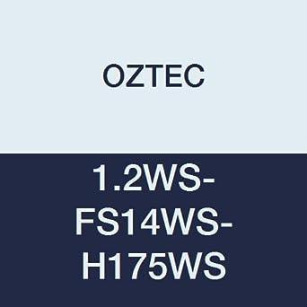 1-3//4 Head 14 Flexible Shaft 1 Phase 9 Amp Motor OZTEC 1.2WS-FS14WS-H175WS Wyco Type Concrete Vibrator AC//DC