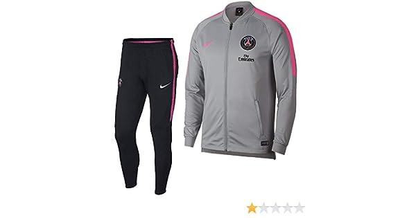 Nike Drparis Saint-Germain Squad Hombre, Wolf Grey/Black/Hyper ...