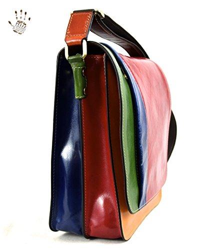 Tornabuoni , Sac pour homme à porter à l'épaule Multicolore multicolor
