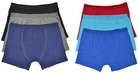 Hari Deals Niños Infantil Bóxers Pantalones Cortos Ropa Interior Pantalones Llanos 6 Pack 2-13 Años - Gris, 13 Años: Amazon.es: Ropa y accesorios