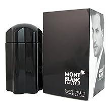 Mont Blanc Emblem Eau De Toilette Spray For Men, 3.3 Ounce