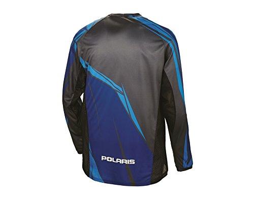 Polaris Off-Road Riding Jersey - Blue - Medium