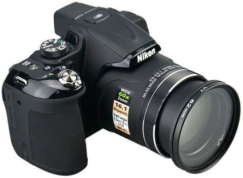 Nikon Coolpix P600 P610s P610 Filter Adapter Ring 62mm