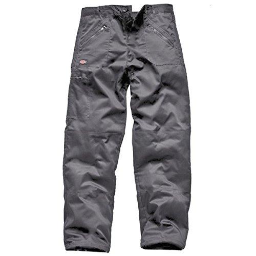 Dickies Men's Redhawk Action Knee Pad Cargo Work Workwear Pants 34W X Regular Grey