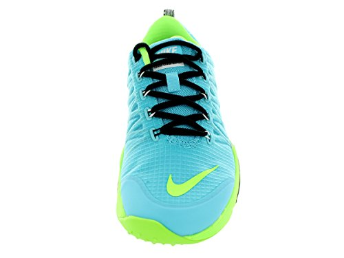 Nike Womens Lunar Cross Element Clearwater / Flsh Lime / Blk / White Scarpa Da Running 8 Donne Us