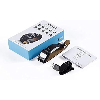 HoganeyVan Heart Rate Fitness Tracker Smart Bracelet Wristband Watch Sleep Monitor Estimated Price £7.53 -