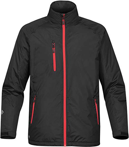 Stormtech Men's Bolt Thermal Shell - XBT-1, Black/Bright RED, XX-Large