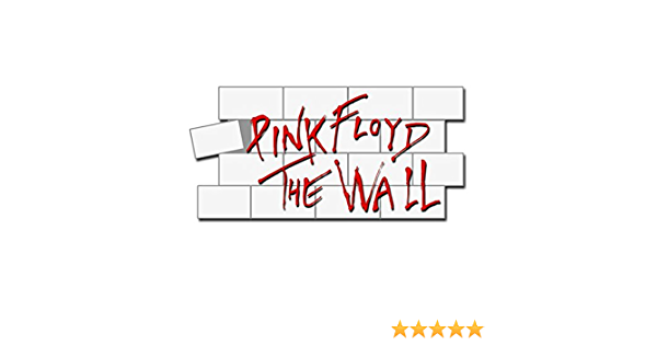 PINK FLOYD  the wall metal badge  pin