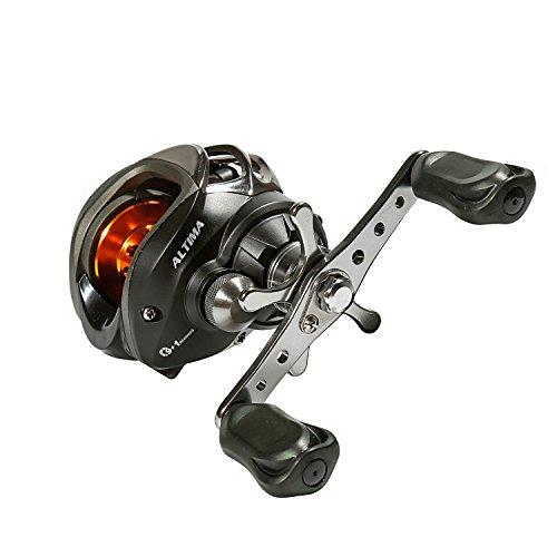 (Primebuy 10BB Right Hand Bait Casting Fishing Reel Ball Bearings Spinning 6.3:1 Black)