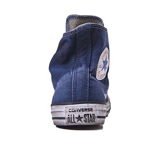 Converse Star Hi Ltd Sneakers Unoisex, Chuck Taylor Ltd 156890C/NAVY Smoke, Colore Blu/Navy, Nuova Collezione Primavera Estate 2018