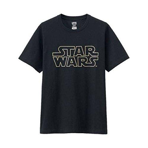 UNIQLO UT スターウォーズ TシャツSTAR WARS UT ロゴ柄 メンズM 定番 StarWars ラストジェダイの商品画像