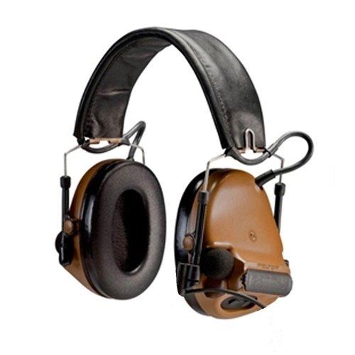 Peltor ComTac III Hearing Protection Headset, Brown by Peltor