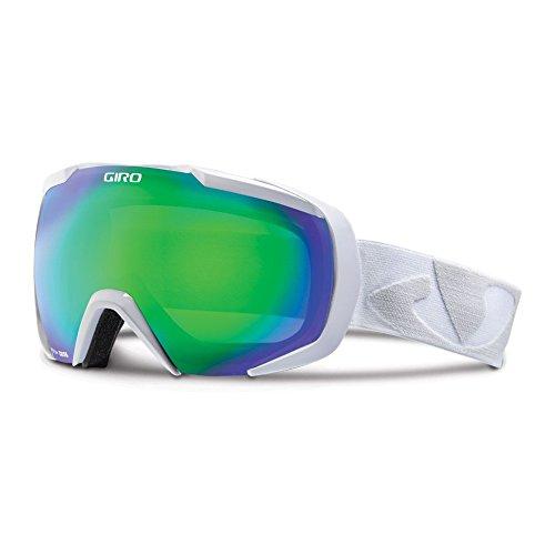 Giro Onset Spherical Lens Goggle (White Icon, Loden Green 26)