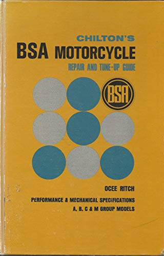 Chilton's BSA motorcycle repair and tune-up guide