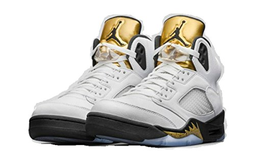 Air Jordan 5 Retro Olympic (Gold Metal) 136027-133 August 20, 2016 Release Men's Size (9.5) (Nike Gold Medal compare prices)