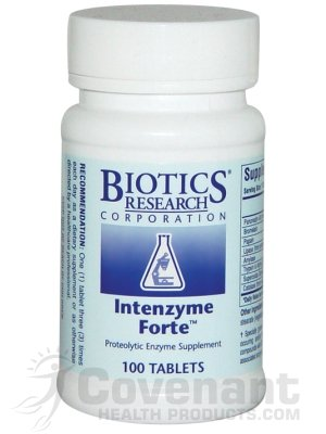 Biotics Research – Intenzyme Forte 100T For Sale