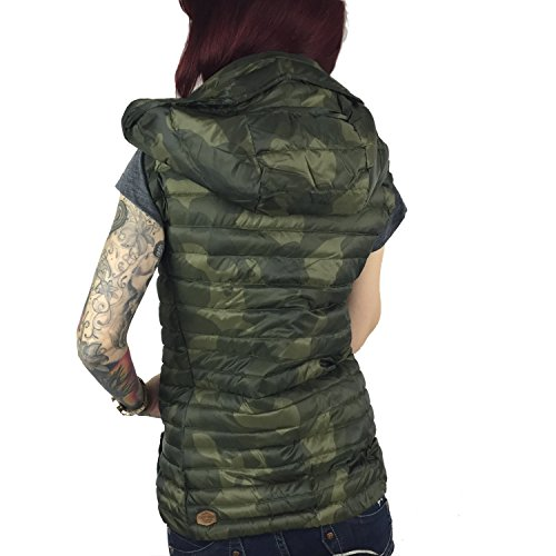 Tipo Y Camouflage Mujer Camuflaje 1597ve163 Chaleco Khujo E08 Para xaXEq58n