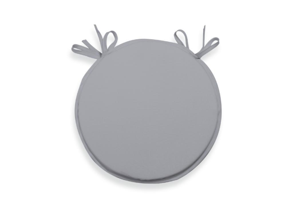 Soleil d'ocre Cuscino per sedia da bistrot 40 cm ALIX tortora Soleil d' Ocre 009232