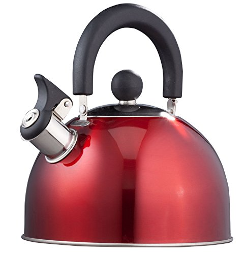Red Whistling Kettle Home Style Kitchen