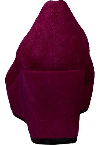 Vagabond Yowla, Women's Schnürhalbschuhe Rot (Fuxia)