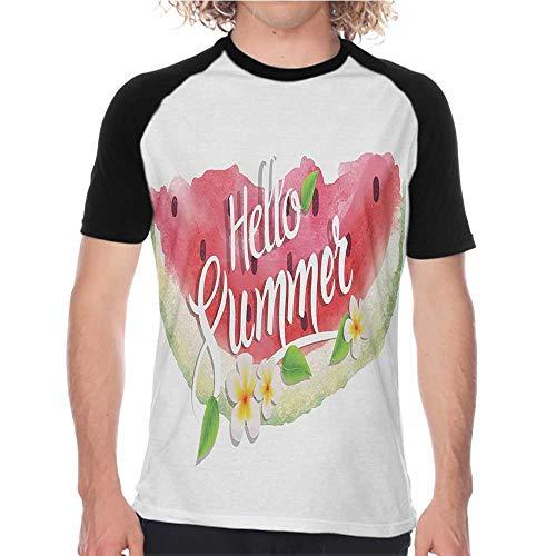 YEYUXIANGLAN Teen Short-Sleeved T-Shirt Male Loose Short-Sleeved T-Shirt S-XXL